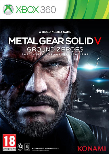Metal Gear Solid V: Ground Zeroes Box Art Revealed