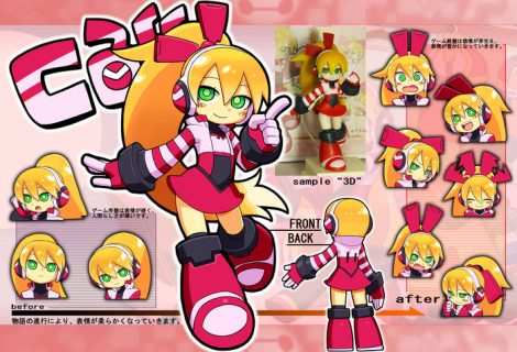 Mighty No. 9 co-op character Call design picked by fans