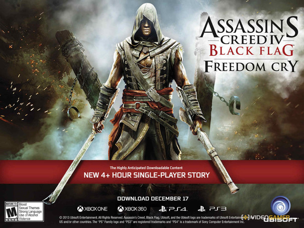 Assassin's Creed 4 Freedom Cry DLC release date announced