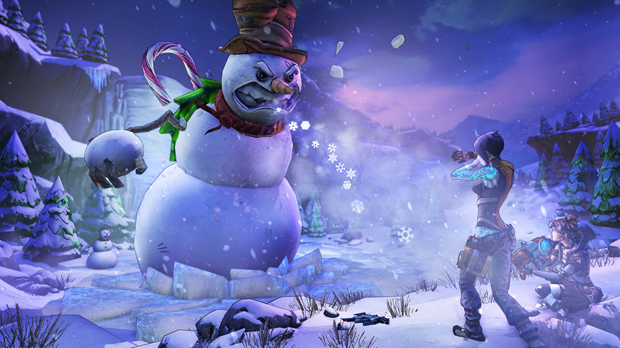 Borderlands 2 celebrates Christmas with a new Headhunter add-on