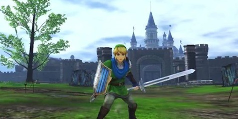 Hyrule Warriors Stars Link Not Zelda