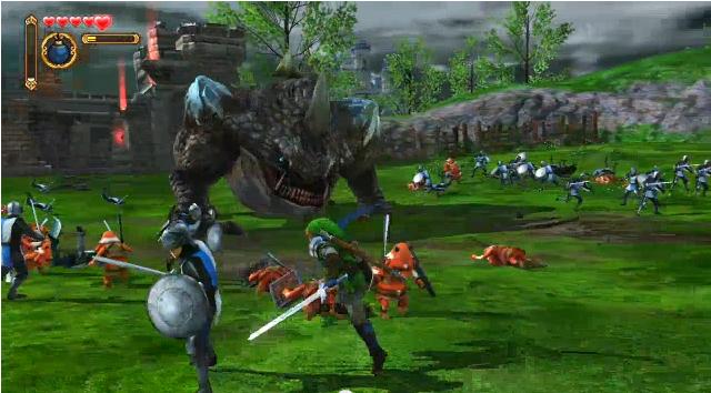 Hyrule Warriors announced for Wii U