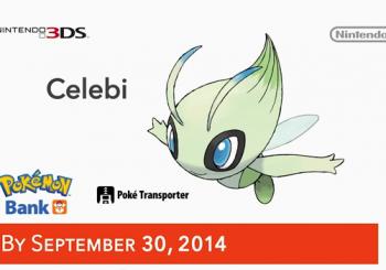 Using Pokemon Bank will allow you to get free Celebi for Pokemon X & Y