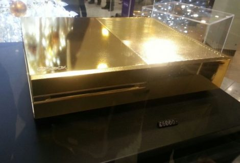 Gold Plated Xbox One Costs $9,750