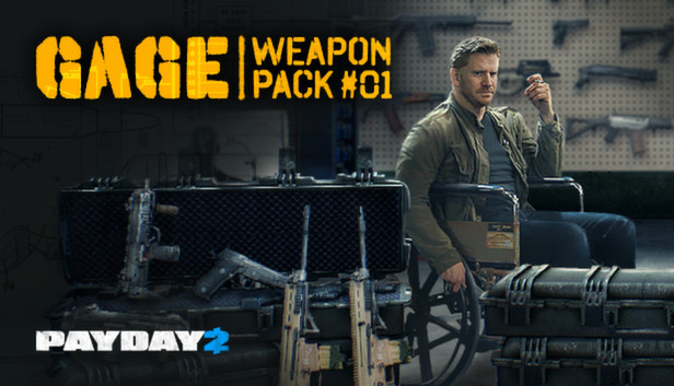 PayDay 2: Gage Weapon Pack #1 DLC Now Available On Steam
