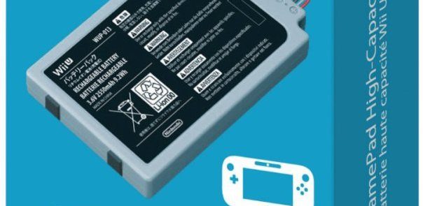 Nintendo has begun to sell Wii U GamePad high capacity battery in US