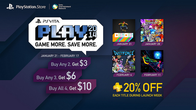 Sony Unveils PS Vita PLAY Promotion