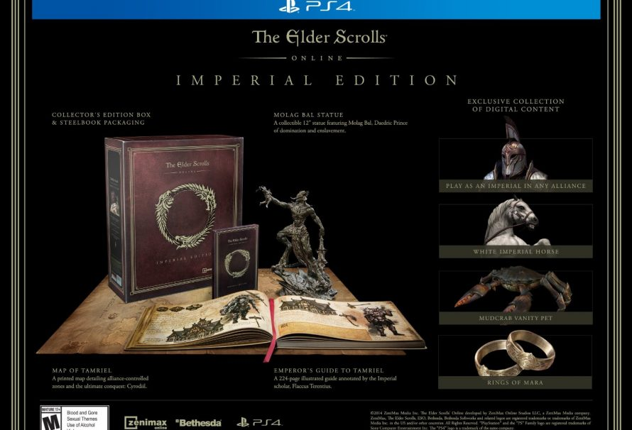 The Elder Scrolls Online Imperial Edition Leaked by Amazon