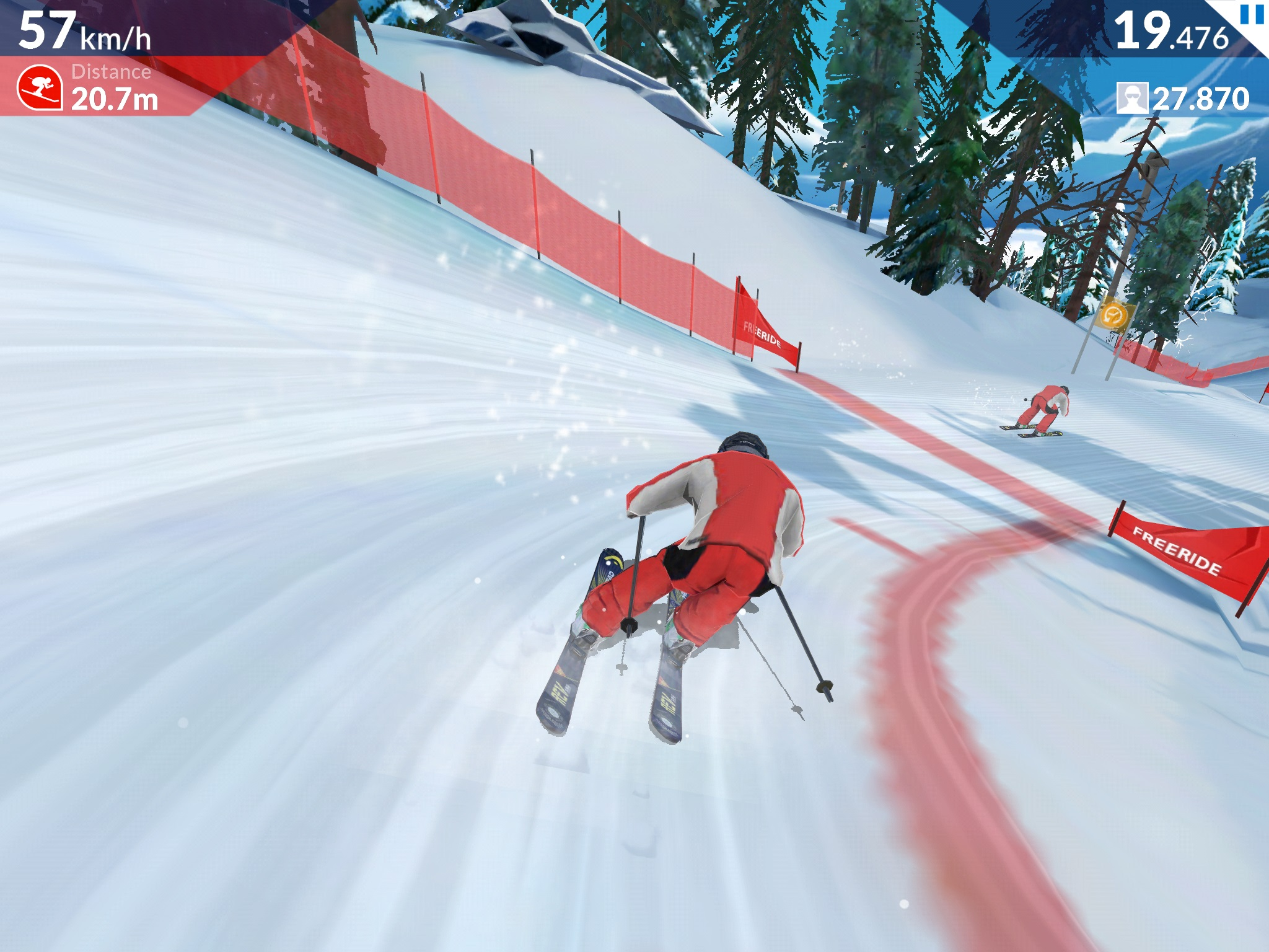 FRS Ski Cross Is Now Available For iOS And Android