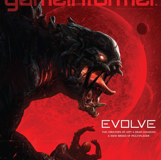 Game Informer Cover Revealed- Evolve From Creators Of Left 4 Dead