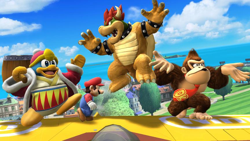 Super Smash Bros. Showcases The Big Guys