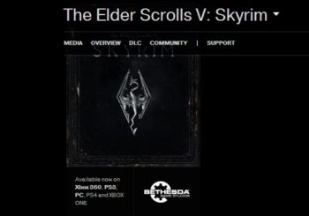 Skyrim Listed For Next-Gen On Bethesda's Website For Short Time