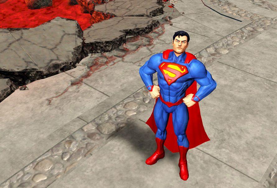 Superman Flys Onto Infinite Crisis