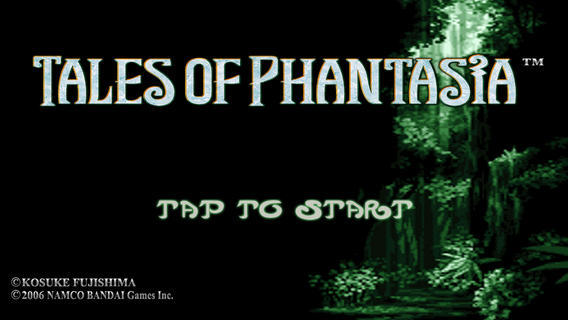 Tales Of Phantasia Available For Free On App Store