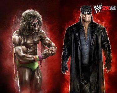 wwe 2k14 undertaker and ultimate warrior