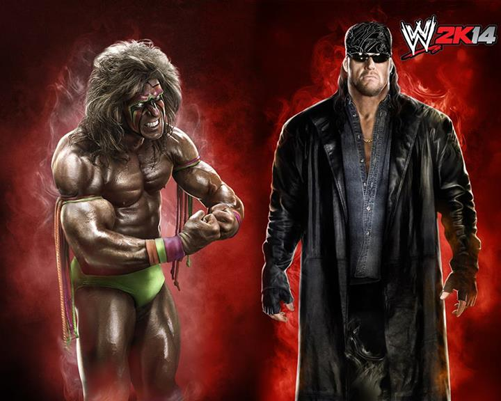 Bad Ass Undertaker And Ultimate Warrior Now Available As WWE 2K14 DLC