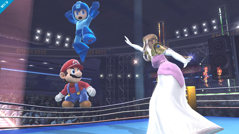 Super Smash Bros.'s Boxing Ring Stage Allows For Bouncing Off Of Ropes