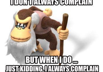 Cranky Kong Has Taken Over The Nintendo Of America Twitter Account