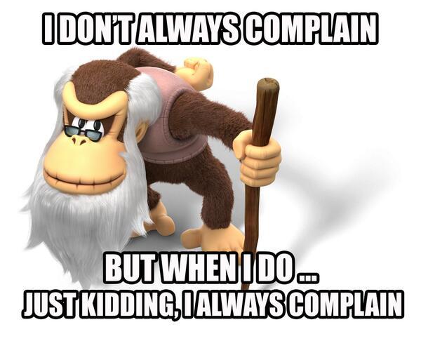 Cranky Kong Has Taken Over The Nintendo Of America Twitter Account