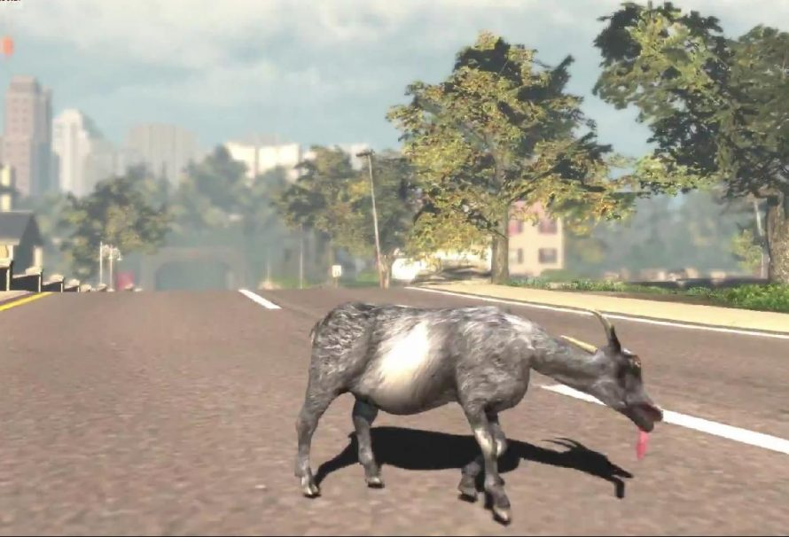 Hilarious Goat Simulator Launch Trailer Released