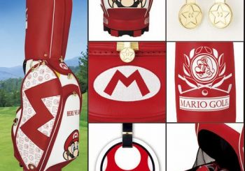 Mario Golf Bag Is Now Available For Sale In Japan