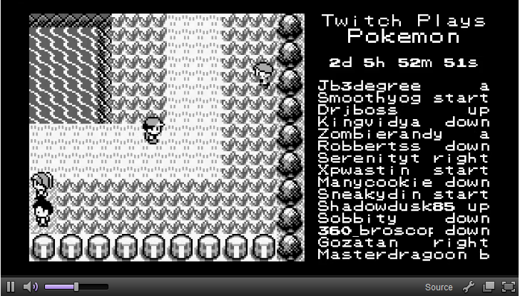 Incredible Pokemon Twitch Stream Is Allowing Chat Members To Play