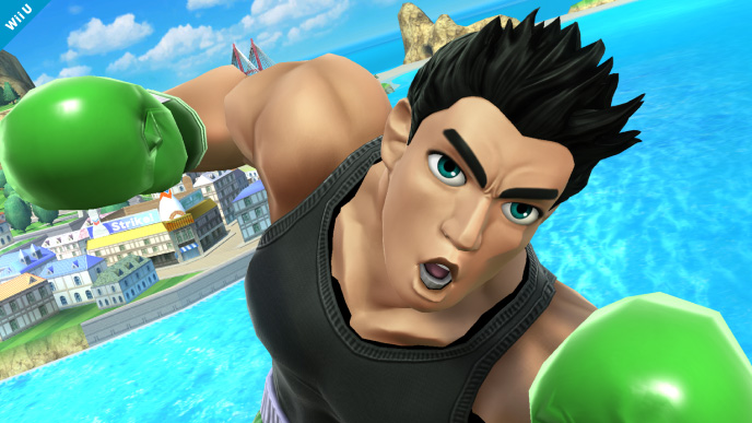 Super Smash Bros. Shows Off Little Mac In Batch of Screenshots