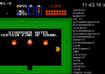 Twitch Plays Takes On Original The Legend Of Zelda