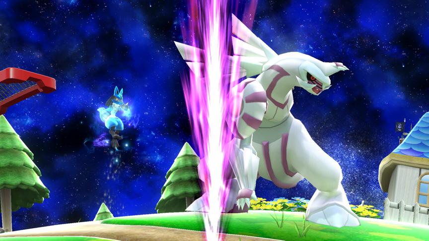 Super Smash Bros. Stage Hazard Moves To Poké Ball
