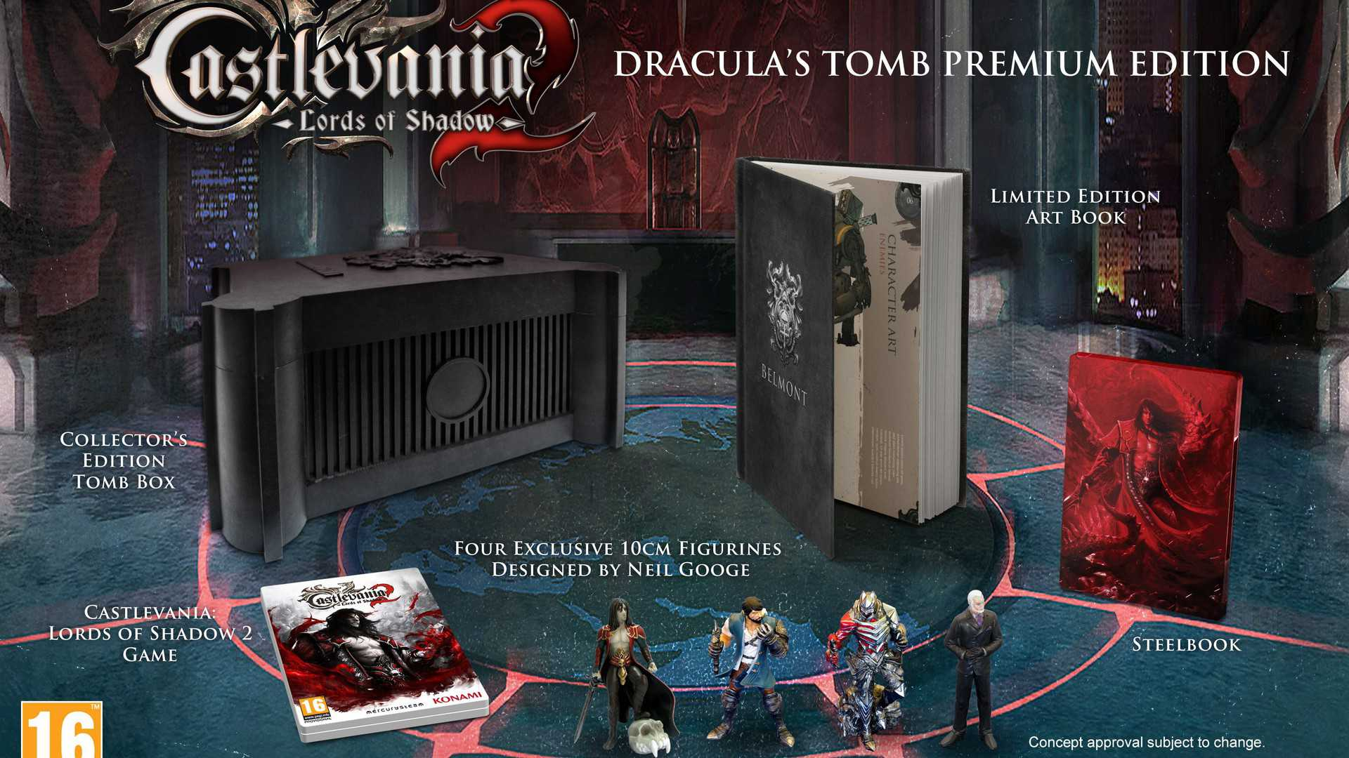 Castlevania Lords Of Shadow 2 Dracula S Tomb Unboxing Just Push Start