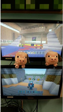 Minecraft PS3 and PS4 Screenshot Comparison