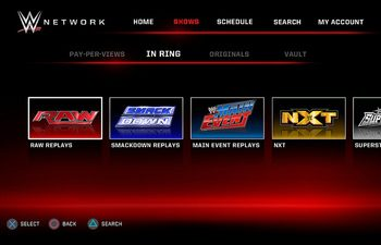 WWE Network Receives New Update On PS4