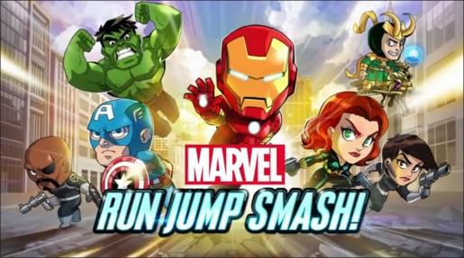 Marvel Run Jump Smash