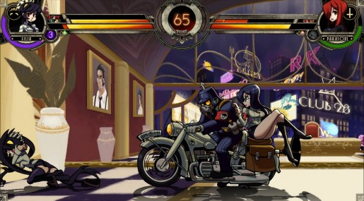 skullgirls action