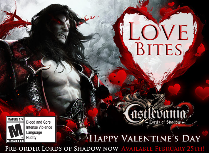 Castlevania: Lords of Shadow 2 Wishes You A Happy Valentine's Day