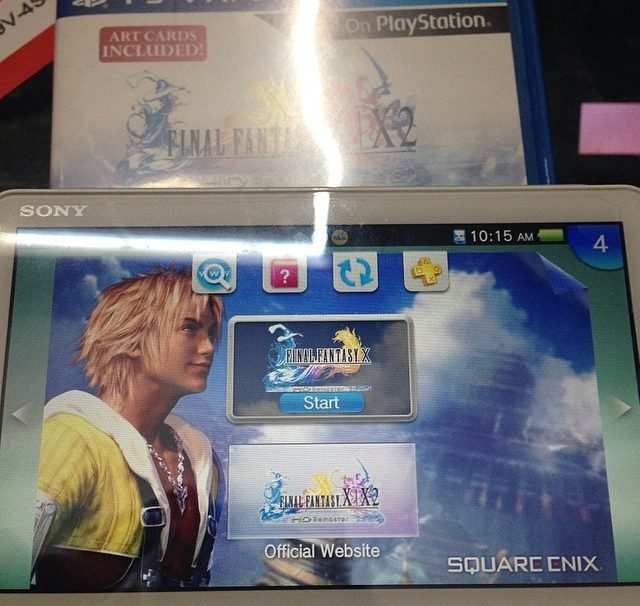 Take A Look At The Contents Of Final Fantasy X/X-2 HD for Vita