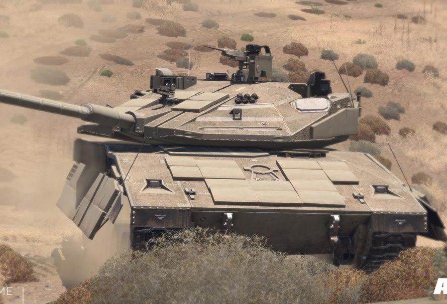 Arma 3 Alpha Anniversary Tank Unveiled
