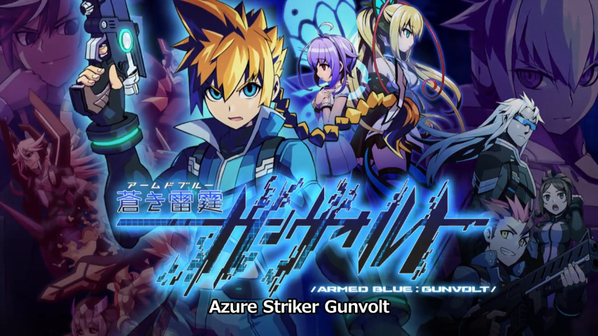 Azure Striker Gunvolt Announced For Nintendo 3DS By Inti Creates