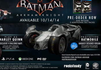 Batman: Arkham Knight Release Date Given By Another Retailer