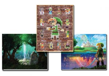 A Link Between Worlds Poster Set Is Back In Stock On Club Nintendo