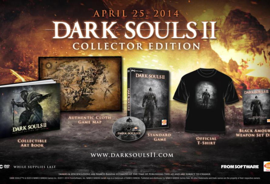 Dark Souls II Coming to PC Via Steam in April