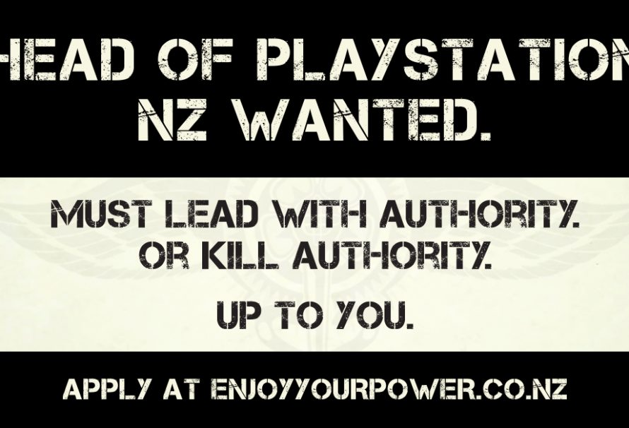 Be The Head of PlayStation New Zealand For One Day