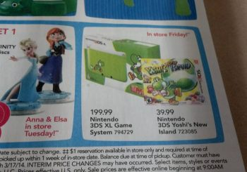 Yoshi's New Island 3DS XL Bundle Confirmed To Be $199.99