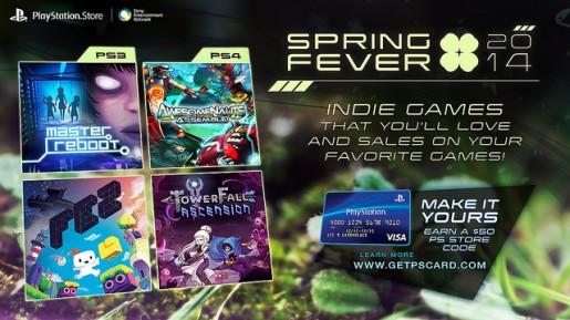 PlayStation Store Spring Fever Sale