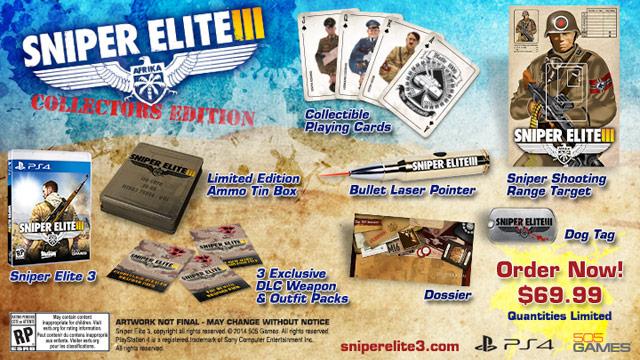 Sniper Elite 3 Receives Collector's Edition