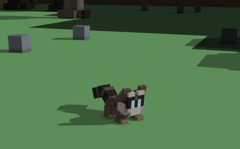 Stonehearth -  racoon