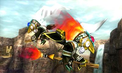 Super Smash Bros. Gerudo Valley Stage Hazard Revealed