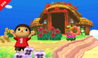 Super Smash Bros. Update Unveils Animal Crossing Themed Stage