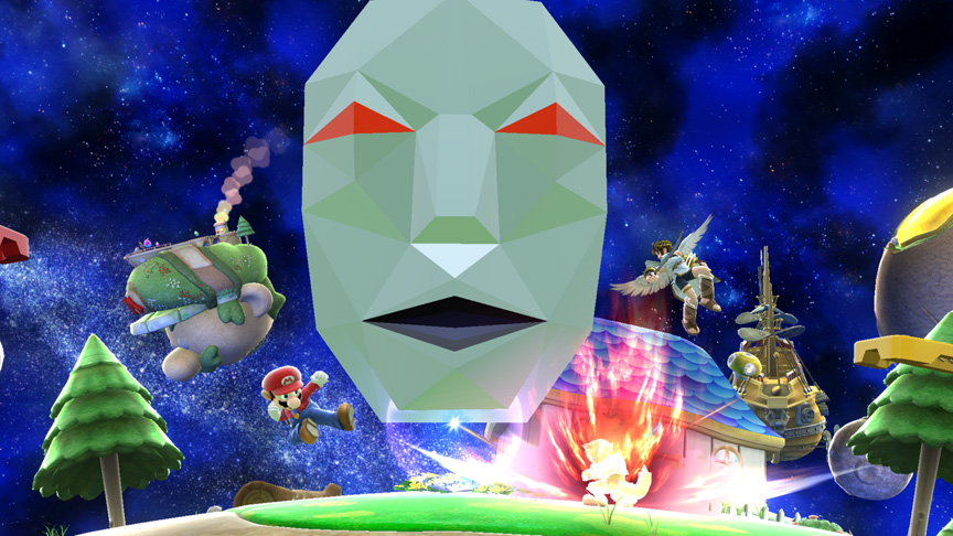 Super Smash Bros. Brings Back The Andross Assist Trophy