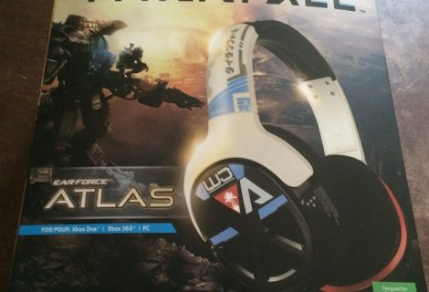 Titanfall Ear Force Atlas Official Gaming Headset Unboxing